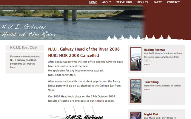 NUIG Head of the River